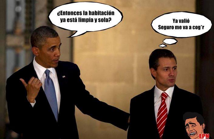 obama y peña
